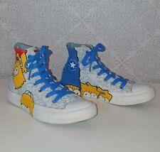 Stunning Rare Simpsons Chuck Taylor All Star Converse. Uk Size 4.