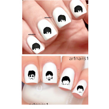 The Beatles Nail Music Art Set 80-120 Water Decals Sticker Salon Polish Manicure