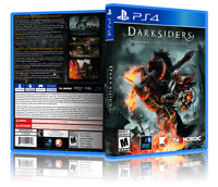 Darksiders: Warmastered Edition - Replacement PS4 Cover and Case. NO GAME!!