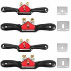 HOIGON 4 Pack 9 Inch & 10 Inch Adjustable Spokeshave with 16 PCS Replacment P...