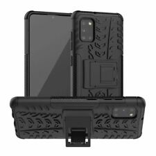 For Samsung Galaxy A31 Shockproof Hybrid Rugged Back Hard Armor Stand Cover Case