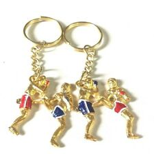 2 Key Chain Art of Muay Thai and Kickboxing  Ideal for gift or Collectibles