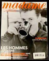 Madame Figaro Magazine October 2004 Fashion Nicolas Hulot Etienne Daho Chanel