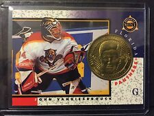 John Vanbiesbrouck 1997-98 Pinnacle Mint Die-Cut Card with Brass Coin #4