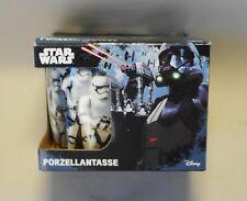 Star Wars The Force Awakens Porzellan Tasse in Box Kaffee Tasse SW
