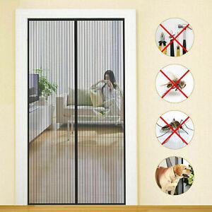 TENDA ZANZARIERA MAGNETICA 18 CALAMITE PORTA BALCONE CAMPER vari colori misure