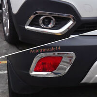 For Vauxhall Opel Mokka 2013 2014 2015 Car Front Rear Fog Light Frame Cover Trim