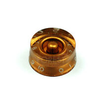 Guitar knob Gibson ® speed style gold / white letters, metric