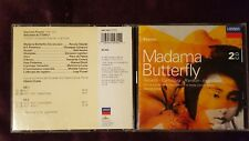 PUCCINI - MADAMA BUTTERFLY (TEBALDI CAMPORA...). DOPPIO CD LONDON