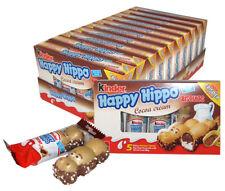 Kinder Ferrero Happy Hippo Cocoa 10 cases x (20.7g x 5) each - Total 50 Pcs
