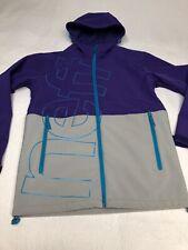 NEFF Daily Soft Shell Waterproof Snowboard Jacket Coat Mens SZ S Women's M