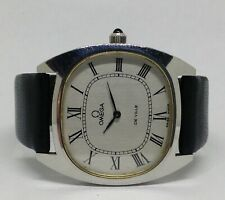 Vintage Men's OMEGA De Ville Mechanical Watch. 32mm. Silver Dial. Roman Numerals
