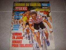 MIROIR du CYCLISME 386 08.1986 MIROIR TOUR DE FRANCE 1 LEMOND TOUTES les ETAPES
