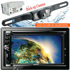 Gravity Car Stereo Double DIN Touch DVD/CD Player AM/FM with Bluetooth + Camera