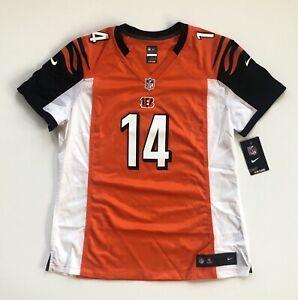 Women's XL Andy Dalton Cincinnati Bengals Nike Orange Game Jersey