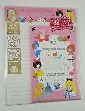 Kamio Japan Little Fairy World Kawaii Letter Set stationery stickers Penpals A