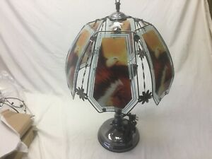 Indian Chief  eagle Touch Lamp 24 inch