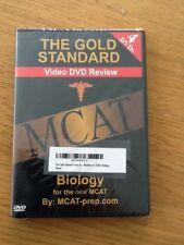 The Gold Standard video dvd review MCAT Biology 4 DVDs - (2012 edition) 4 DVDs