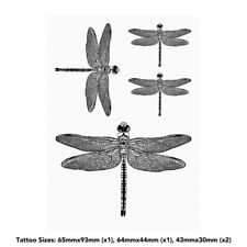 'Dragonfly' Temporary Tattoos (TO027125)