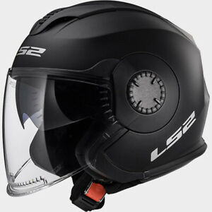 Casco LS2 Helmet Verso OF570 - Mono Nero Opaco