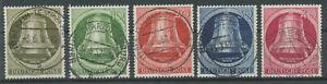Berlin Michel No. 82 - 86 gestempelt