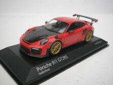 1 43 Minichamps Porsche 911 (991 II) GT2 RS 2018 Red/carbon