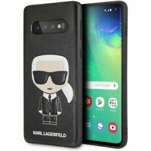 Genuine Karl Lagerfeld  Karl & Choupette Impact Case for Samsung S10