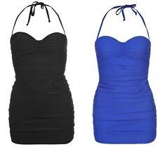 Ladies Womens Firetrap Swim Swimming Dress Costume Swimsuit Swimmers~Sizes 8-22