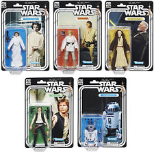 Star Wars Black Series ~ 40TH ANNIVERSARY 5-PIECE ACTION FIGURE SET ~ Hasbro