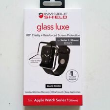 ZAGG Glass Luxe Screen Protector Apple Watch Series 1 38mm also for series 2 38m