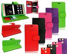 Fundas con tapa color principal rojo para teléfonos móviles y PDAs Huawei