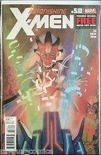 Astonishing X-Men #58 VF+ 1st Print Free UK P&P Marvel Comics