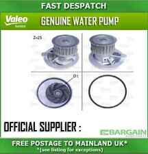 506309 2619 VALEO WATER PUMP FOR VAUXHALL SINTRA 2.2 1997-1999