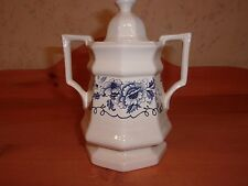 Iroquoise Pottery Sugar Bowl By Simpsons LTD Made in England *EUC*