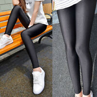 Glanzstrumpfhosen High Waist Leggings Hosen Strumpfhosen Tights Treggins Leggins