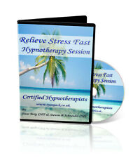Stress Relief Self Hypnosis CD - Certified Hypnotherapists Effective Techniques