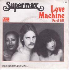 7inch SUPERMAX love machine part I & II HOLLAND EX 1978 (S0476)