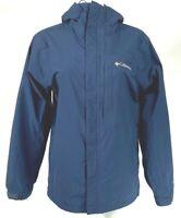 Columbia Sportswear Men's Vista View EXS Jacket Size Small Navy Blue EUC A5806