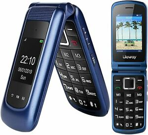 👵 Flip Cell Phone Large Screen Big Button Unlocked Prepaid 3G T-Mobile Straight
