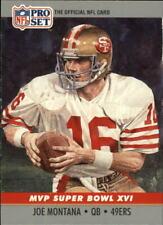 1990 Pro Set Super Bowl MVP's #16 Joe Montana