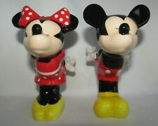 Mickey And Minnie salt and pepper shakers New In Box