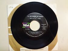 "ELECTRIC TOILET:In The Hands Of Karma-Revelations-U.S.7"" 70 Nasco DJ w/DJ Insert"