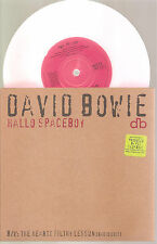 "DAVID BOWIE ""Hello Spaceboy"" pink 7"" Vinyl Single"