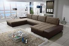 Couch Couchgarnitur VERONA 8 U Sofagarnitur Sofa Schlaffunktion