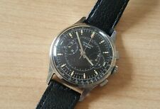 Gent's Vintage Stainless Steel Manual Winding Sekonda Chronograph