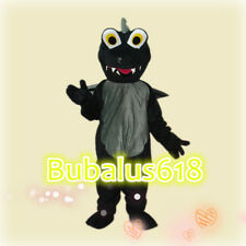 Customade Black Dragon adult Caroon/mascot costume Hallowmas/Christmas/Festival