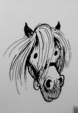 Thelwell Greeting Card - Pony head  - Brand new