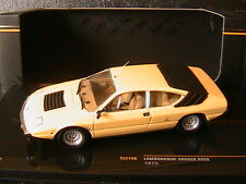 LAMBORGHINI URRACO P250 1973 LIGHT YELLOW IXO CLC148 1/43 JAUNE CLAIR GELB