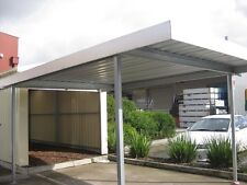 New Buildpro zinc Carport, Verandah, Patio, pergola, shade roofing 5.5mx3.35m