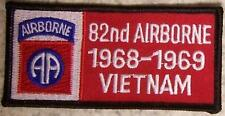 Embroidered Military Patch Vietnam Tour 82nd Airborne badge NEW
